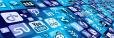 Verschillende logo's van platformbedrijven